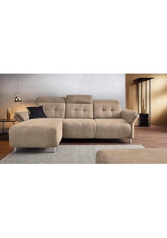 Places of Style Ecksofa »Manhattan«, 2 Sitze mit elektrischer Relaxfunktion,... kaufen