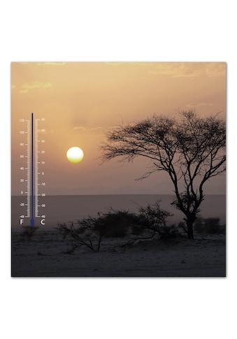 Home affaire Bild »Meer bei Sonnenuntergang«, 30/30 cm kaufen