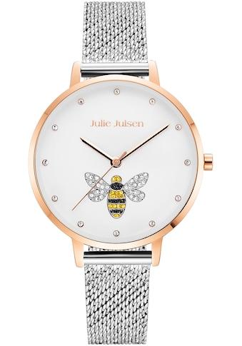 Julie Julsen Quarzuhr »Bee Rosé Silver, JJW1072RGSME« kaufen