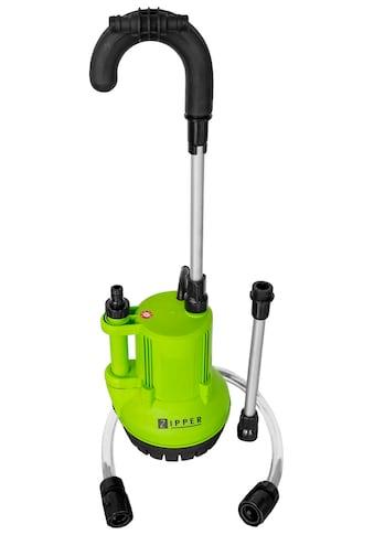 ZIPPER Regenfasspumpe »ZI-RTP350«, 2.500 l/h Fördermenge kaufen