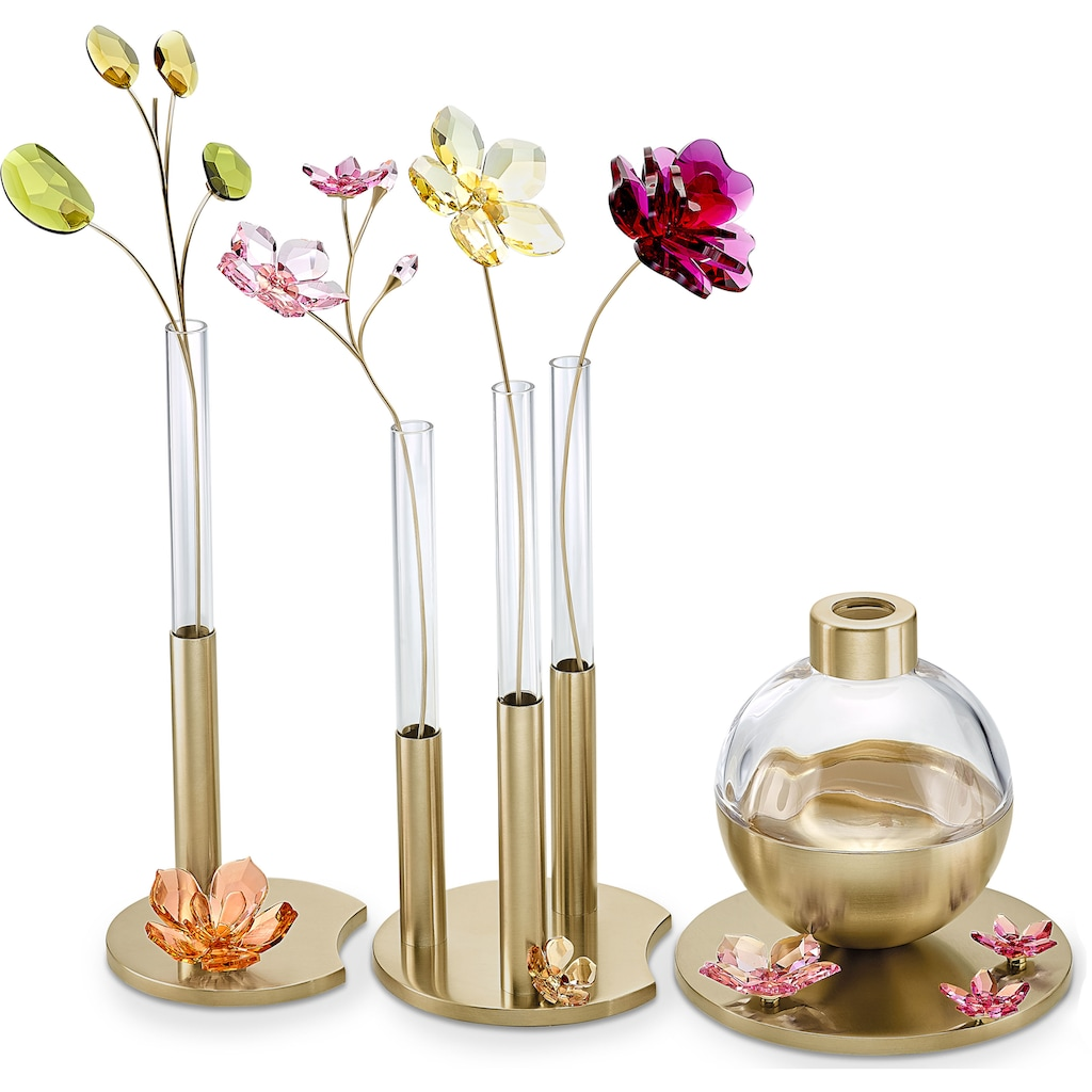 Swarovski Dekoobjekt »Garden Tales Magnolie Magnet, groß, 5580028«, Swarovski® Kristall