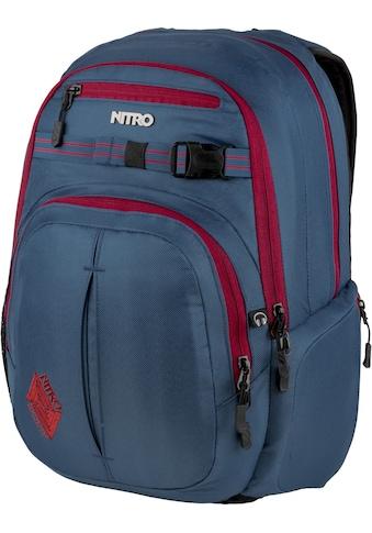 NITRO Schulrucksack »Chase Blue Steel« kaufen