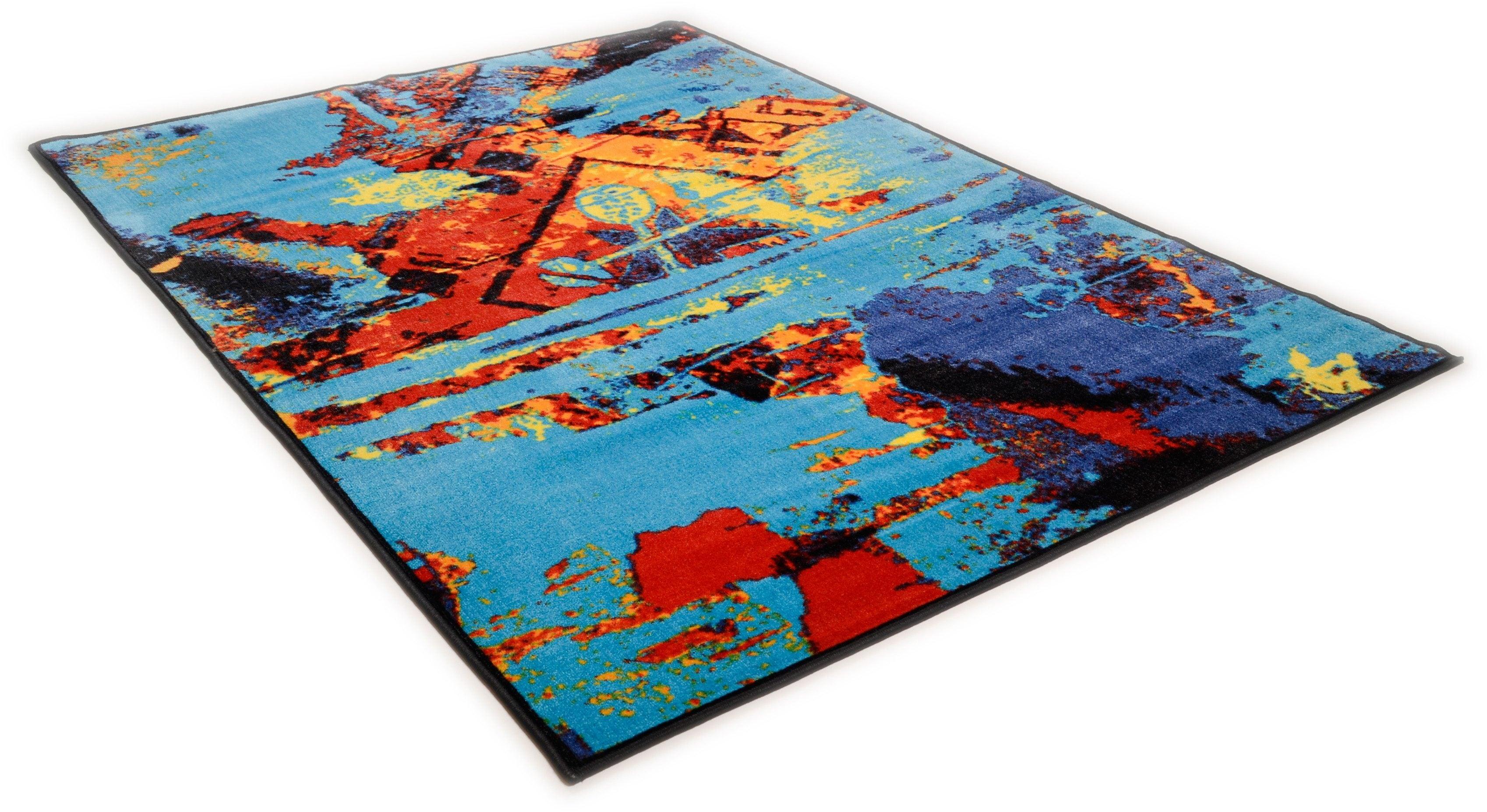 Teppich Sydney 800 THEKO rechteckig Höhe 10 mm maschinell getuftet