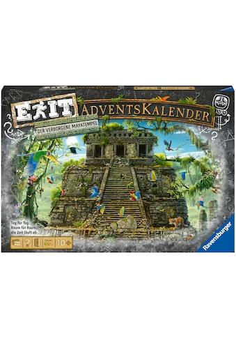 Ravensburger Adventskalender »Exit - Der verborgene Mayatempel«, ab 9 Jahren kaufen