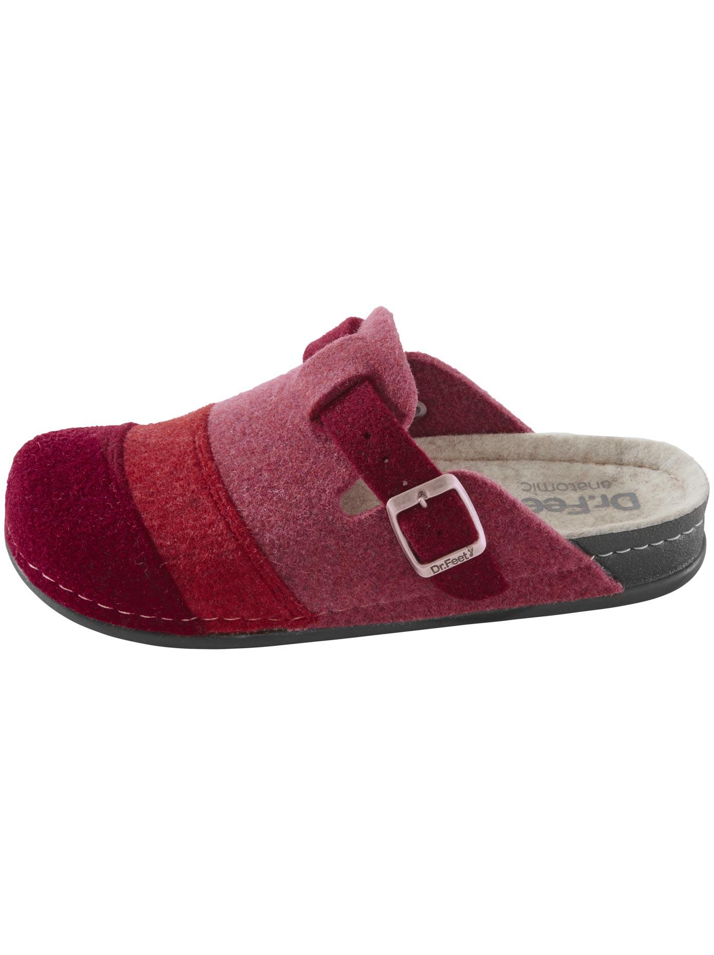 Hausschuh rot Damen Hausschuhe Schuhe Klassische Mode