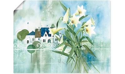 Artland Wandbild »Traum von Süden I«, Blumen, (1 St.), in vielen Größen & Produktarten -Leinwandbild, Poster, Wandaufkleber / Wandtattoo auch für Badezimmer geeignet kaufen