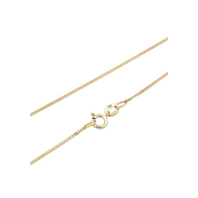 Diamore Collierkettchen »Kreuz Glaube Edel Diamant (0.01 ct.) 585 Gelbgold«