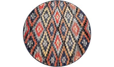 Teppich, »Artigo 405«, Paco Home, rund, Höhe 11 mm, maschinell gewebt kaufen
