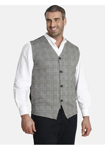Charles Colby Sweatweste »DUKE PIUS«, mit Glencheck-Muster kaufen