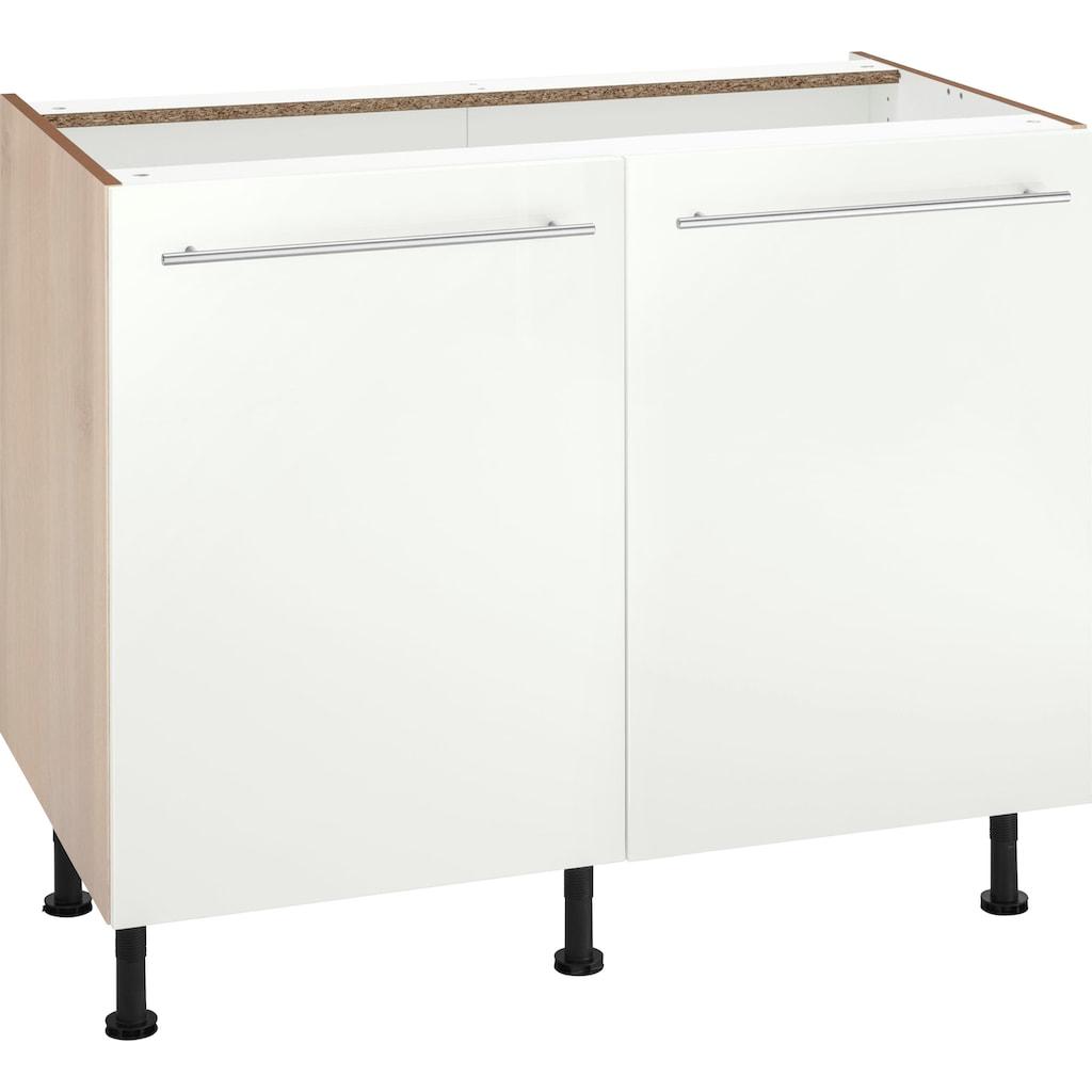 OPTIFIT Unterschrank »Bern«, 100 cm breit, mit 2 Türen, mit höhenverstellbaren Füßen, mit Metallgriffen