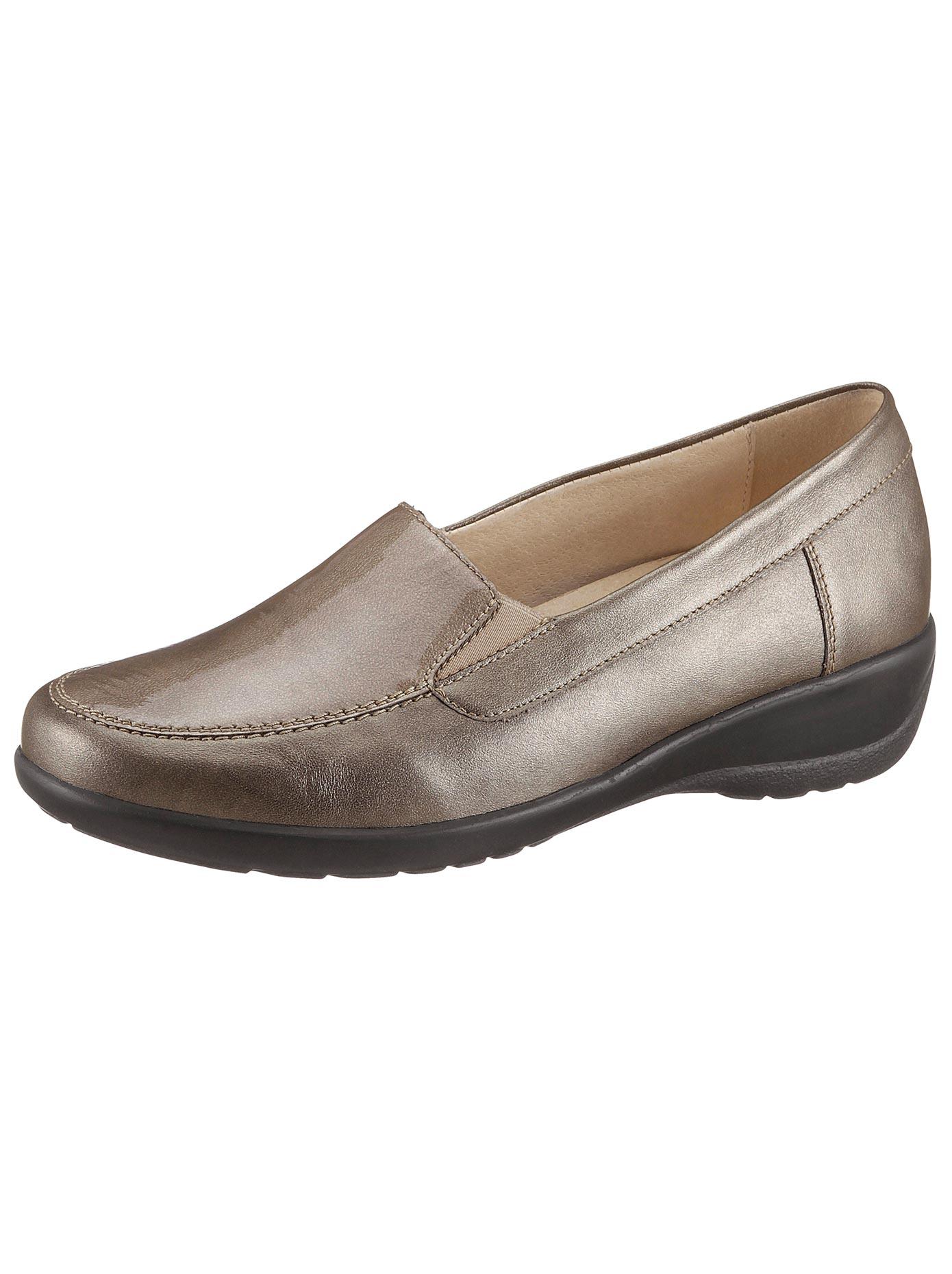 Soft Line Slipper mit rutschhemmender PU-Luftpolstersohle | Schuhe > Slipper | Leder - Pu | Soft Line