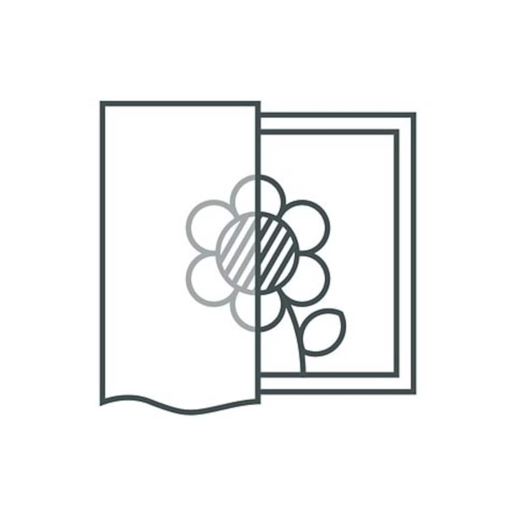 Stickereien Plauen Gardine »Diana«, veredelt mit echter Plauener Spitze Stickerei