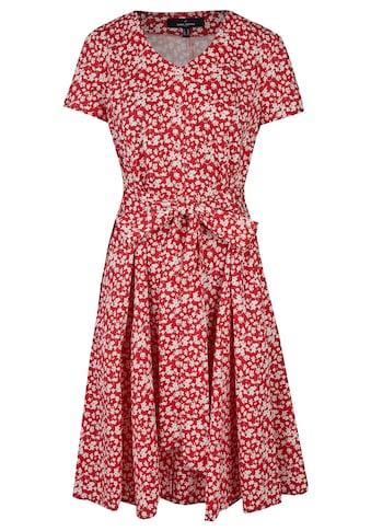 Daniel Hechter Florales Sommerkleid mit Bindegürtel kaufen
