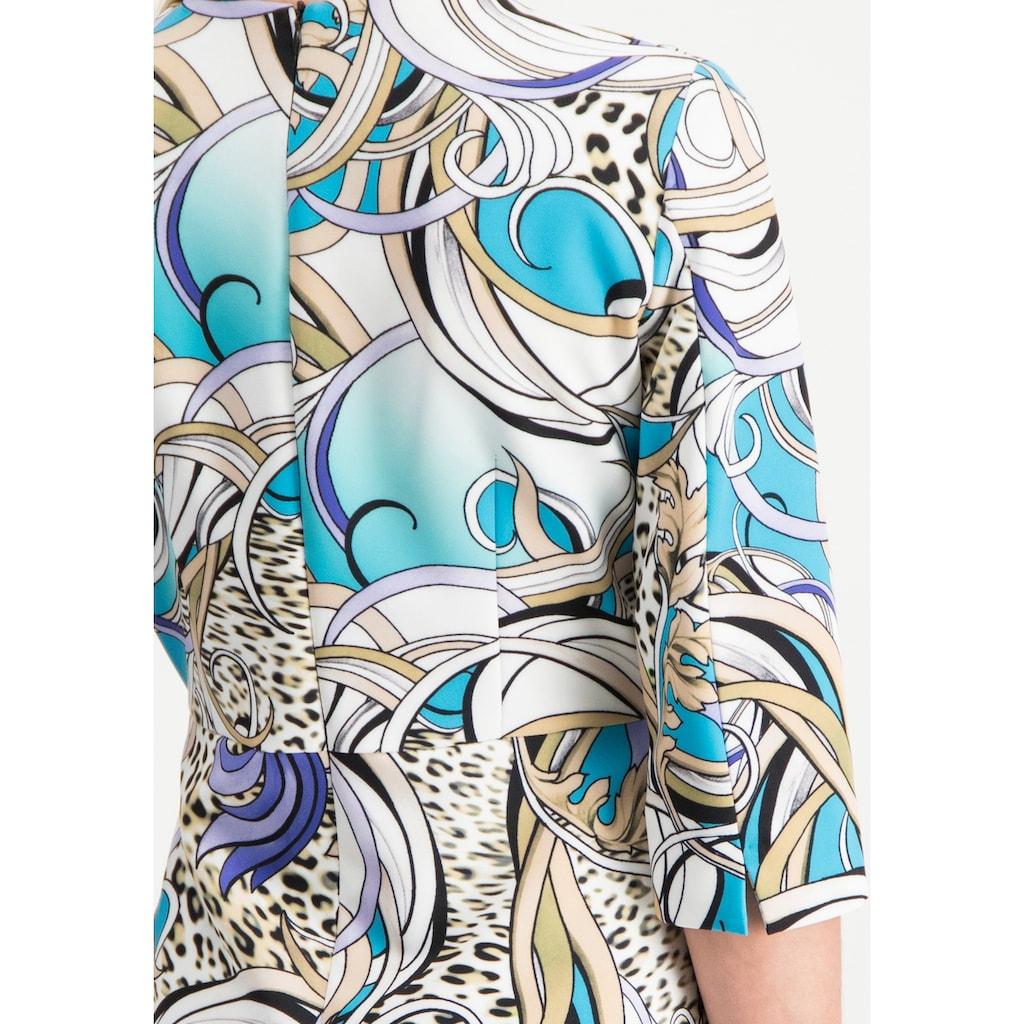 Nicowa Stilvolles gemustertes Kleid