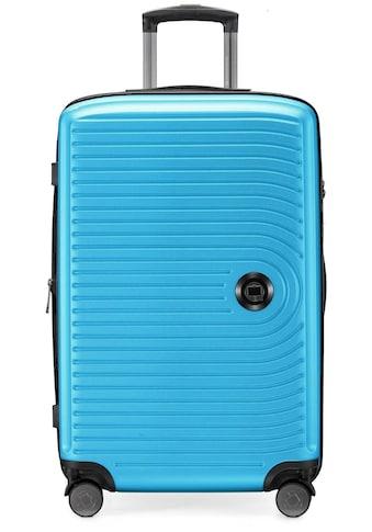 Hauptstadtkoffer Hartschalen-Trolley »Mitte, 68 cm, cyanblau«, 4 Rollen kaufen