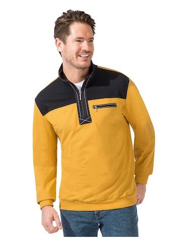 Catamaran Sweatshirt mit auffälligem Kontrast - Einsatz im Vordertei kaufen