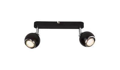 Brilliant Leuchten Ina LED Spotbalken 2flg schwarz/chrom kaufen