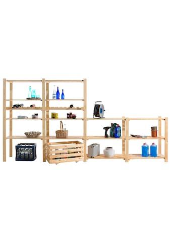 Regalelement »Zusatzböden, 2 Stück, Holz-Allzweckregal«, (Set, 2 St.), B/T: 85x40 cm,... kaufen
