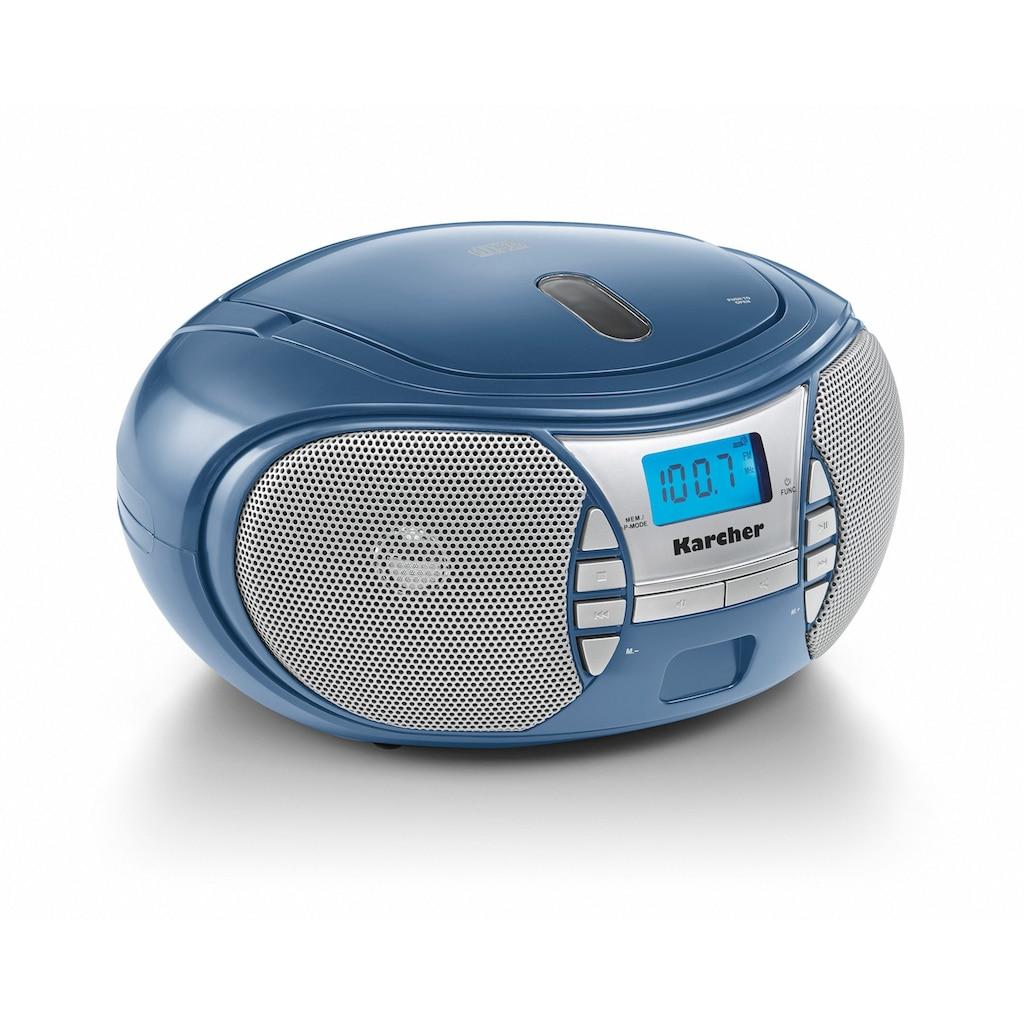Karcher CD-Player »RR 5025-C«, (CD 1 W)