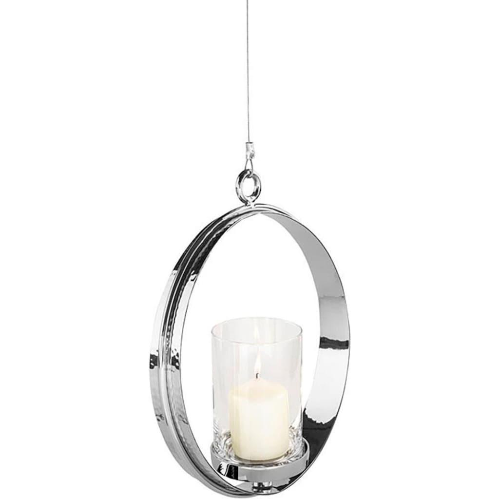Fink Kerzenhalter »COLETTE«, Hängeleuchter, Kerzenleuchter, Teelichthalter, zum Aufhängen, rund, in Handarbeit hergestellt, verschiedene Größen erhältlich, ideal im Esszimmer & Wohnzimmer