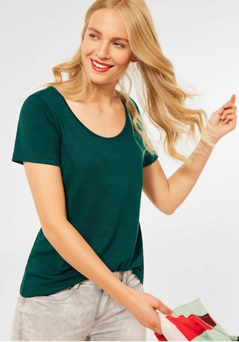STREET ONE V-Shirt »Style Gerda«, einfarbiges Kombi-Teil kaufen