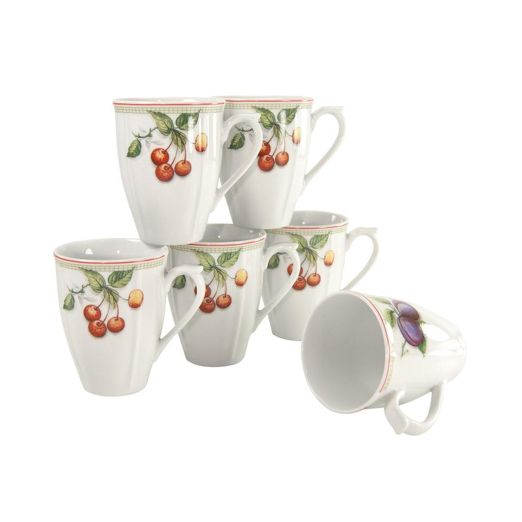 CreaTable Becher »Flora Orchard«, (Set, 6 tlg.)