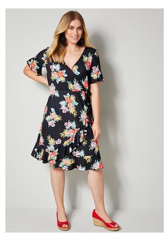 Sara Lindholm by Happy Size Kleid mit Blumendessin kaufen