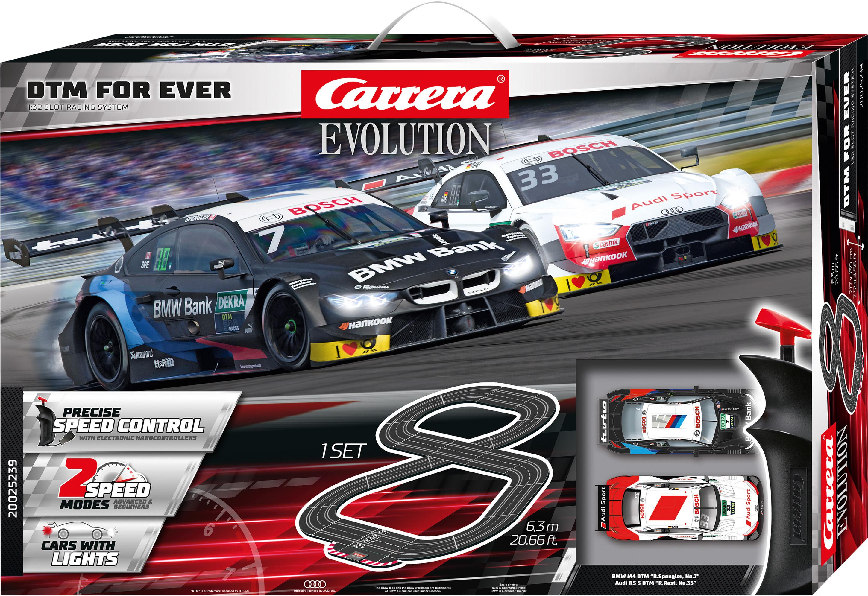Carrera Autorennbahn Evolution - DTM For Ever bunt Kinder Autorennbahnen Autos, Eisenbahn Modellbau