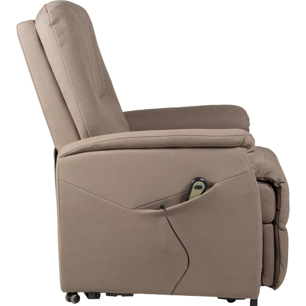 Duo Collection TV-Sessel »Edmonton«, Fernsehsessel mit Aufstehhilfe
