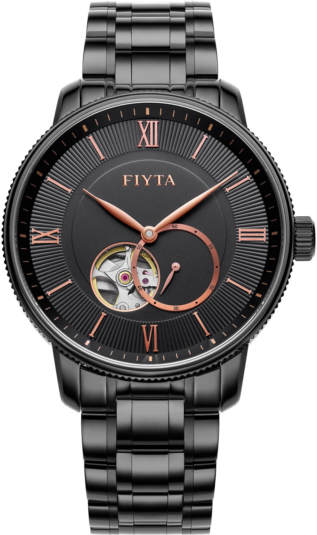 FIYTA Automatikuhr Photographer GA860021BBB | Uhren > Automatikuhren | Schwarz | Fiyta