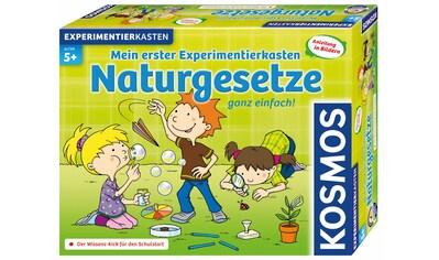 """Kosmos Experimentierkasten """"Mein erster Experimentierkasten Naturgesetze"""" kaufen"""