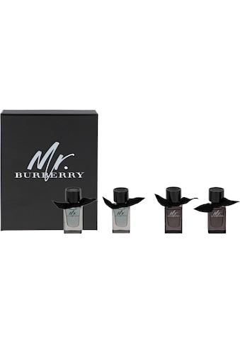 "BURBERRY Duft - Set ""Mr Burberry Mini Collection"", 4 - tlg. kaufen"