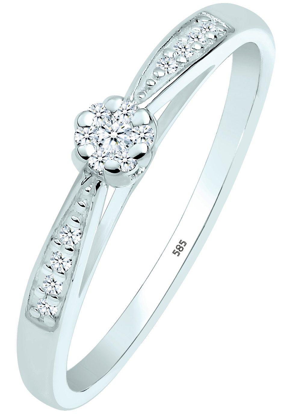 Diamore Verlobungsring 0604960414   Schmuck > Ringe > Verlobungsringe   Goldfarben   Diamore