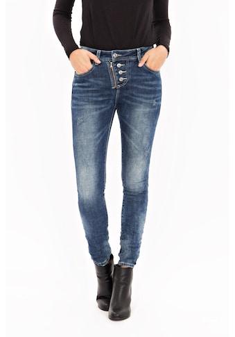 Blue Monkey Skinny - fit - Jeans »Daria 1651« kaufen