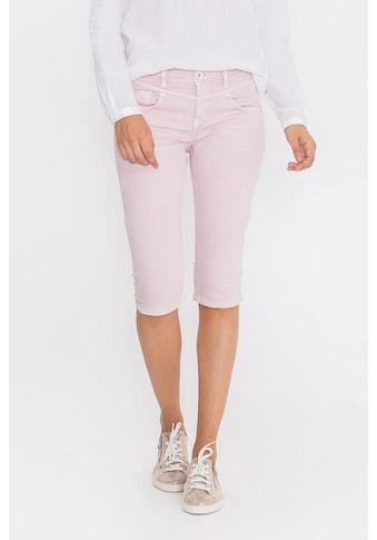ATT Jeans Caprijeans »Zoe«, Slim Fit mit Sitzfalten kaufen