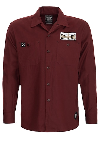 KingKerosin Langarmhemd »Ride Like Thunder«, mit Stickerei im Rücken kaufen
