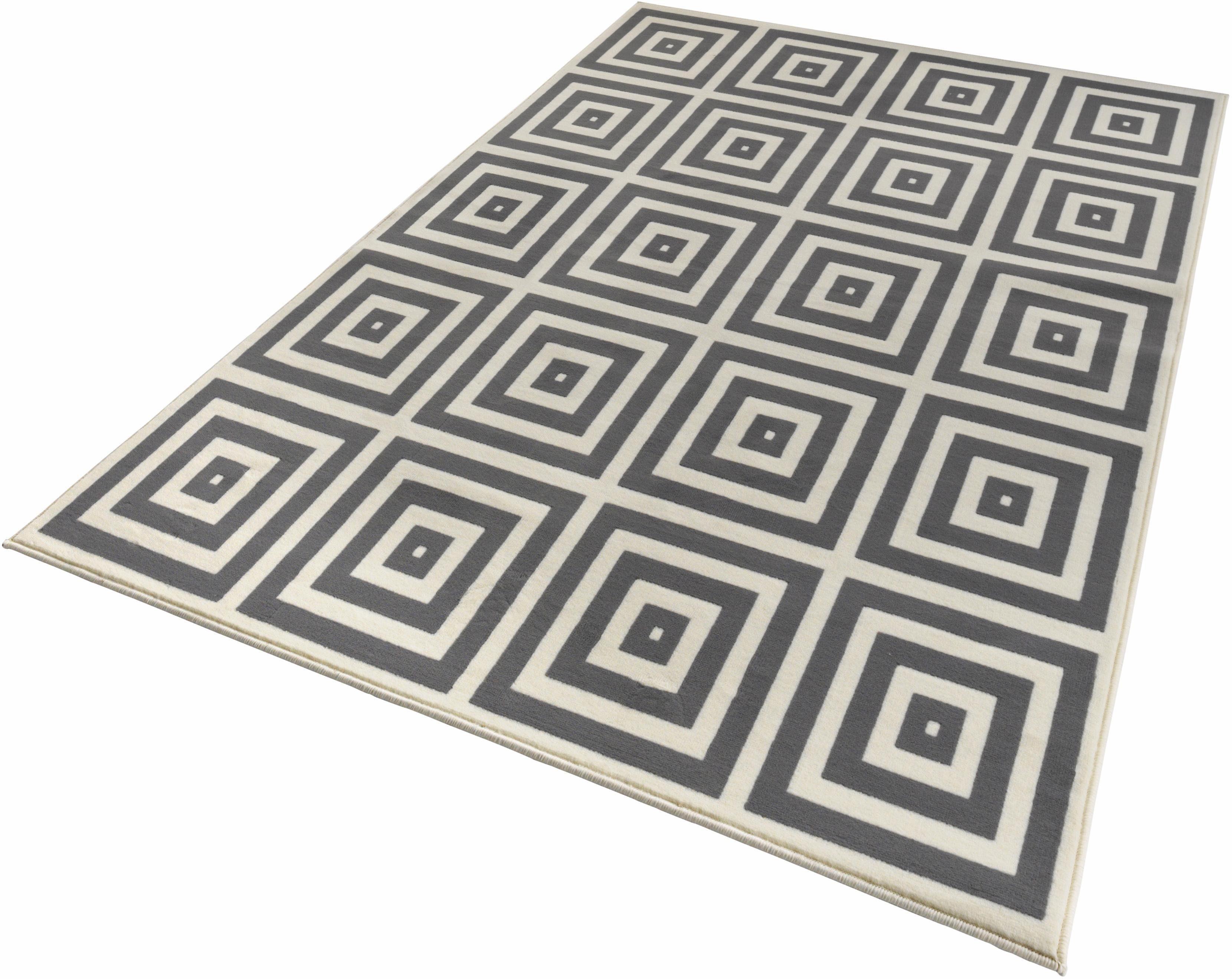 Teppich Mono Zala Living rechteckig Höhe 9 mm