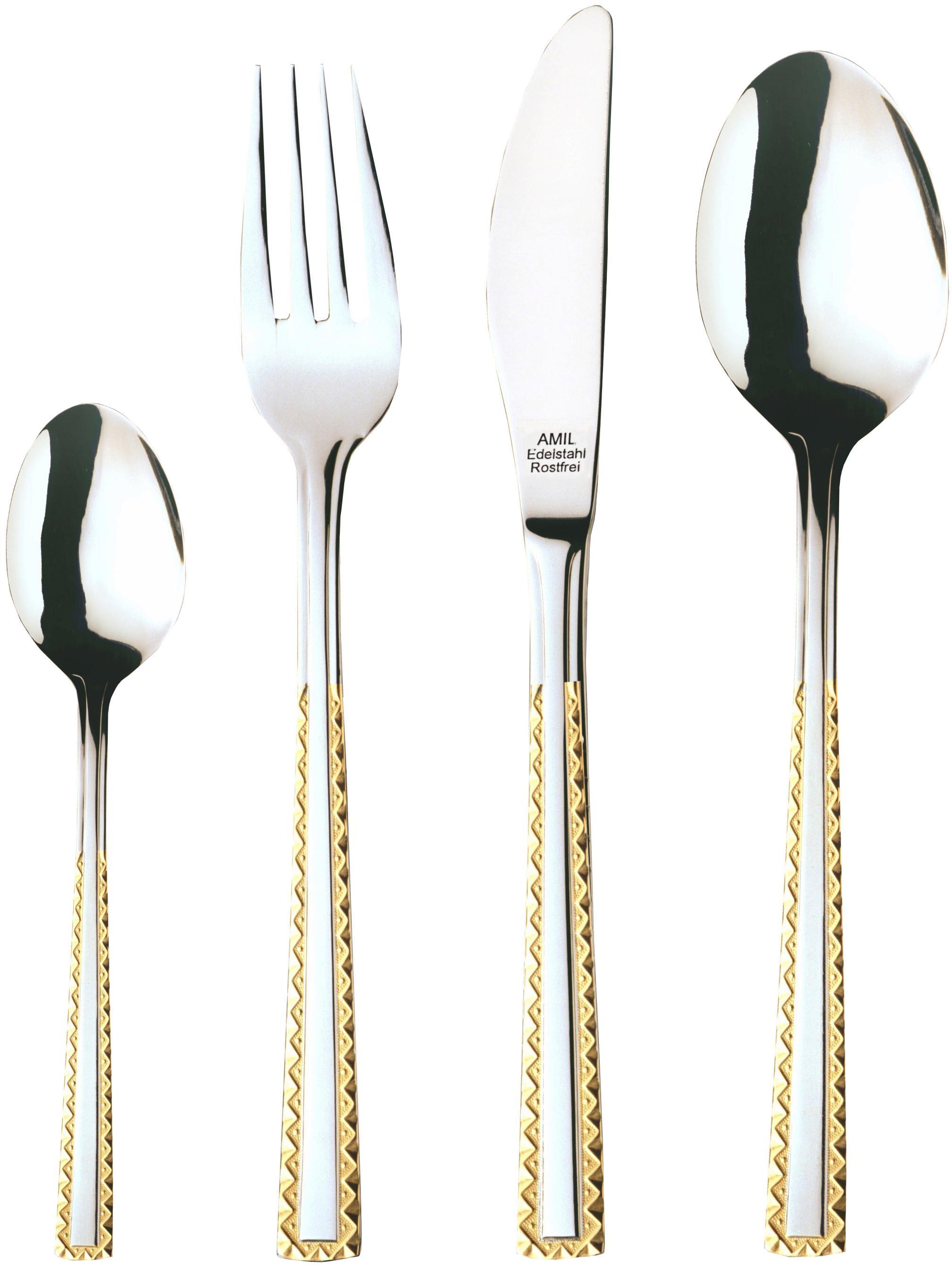 AMIL Besteck-Set ´´4520´´   Küche und Esszimmer > Besteck und Geschirr > Besteck   Edelstahl   Amil