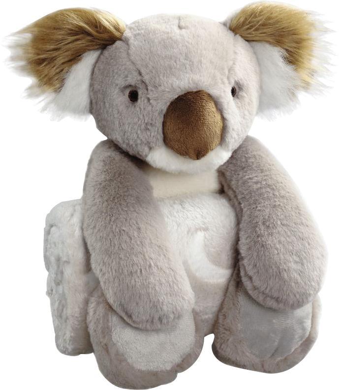 BIEDERLACK Babydecke Koala grau Baby Babydecken Decken