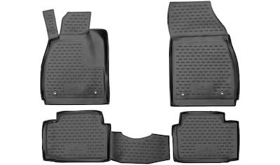 WALSER Passform-Fußmatten »XTR«, Opel, Insignia, Kombi-Schrägheck-Stufenheck, (4 St.,... kaufen