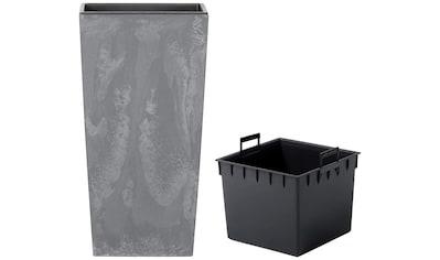 Prosperplast Pflanzkübel »Urbi Square Effect«, BxTxH: 40x40x75 cm kaufen