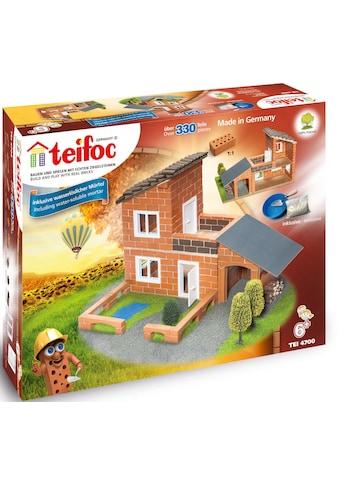 teifoc Steinbaukasten »Villa mit Garage«, (330 St.), Made in Germany kaufen