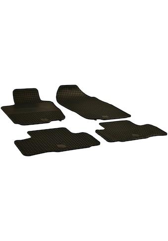 WALSER Passform-Fußmatten, Toyota, RAV4, Geländewagen, (4 St., 2 Vordermatten, 2... kaufen