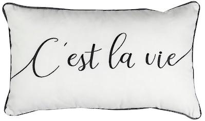 Dekokissen, »Cest la Vie 08«, ELBERSDRUCKE kaufen