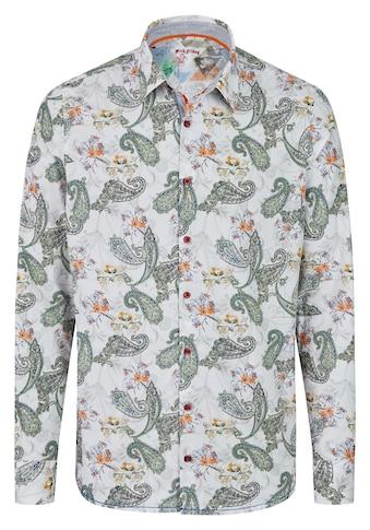 Rich Friday Langarmhemd mit Paisley-Muster kaufen