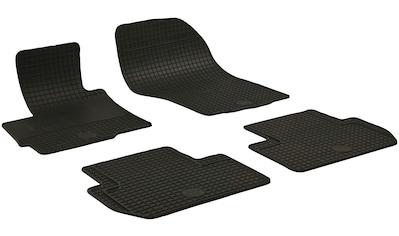 WALSER Passform-Fußmatten, Mitsubishi, ASX, Geländewagen, (4 St., 2 Vordermatten, 2... kaufen