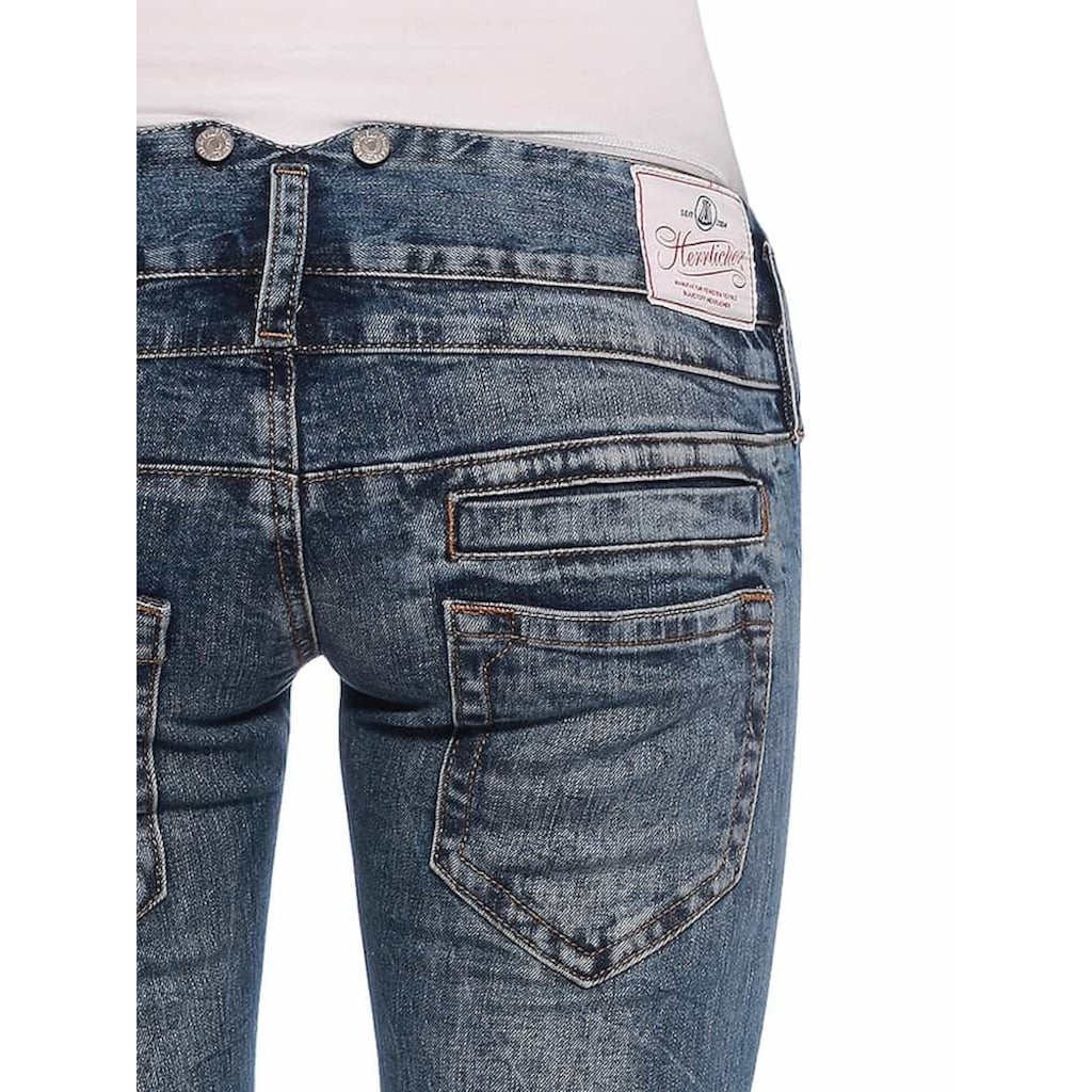 Herrlicher Jeanshose mit Vintage-Flair