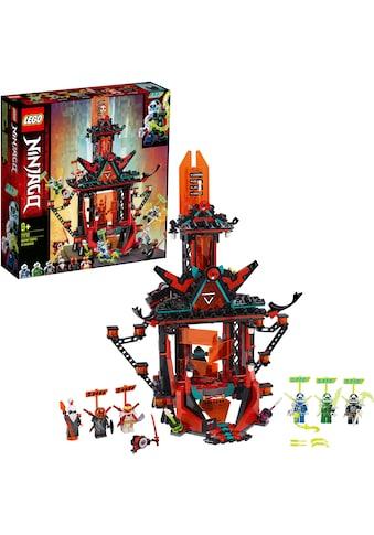 LEGO® Konstruktionsspielsteine »Tempel des Unsinns (71712), LEGO® NINJAGO®«, (810 St.), Made in Europe kaufen