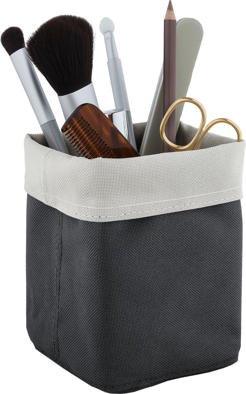 BLOMUS Aufbewahrungsbox ARA grau Kleideraufbewahrung Aufbewahrung Ordnung Wohnaccessoires