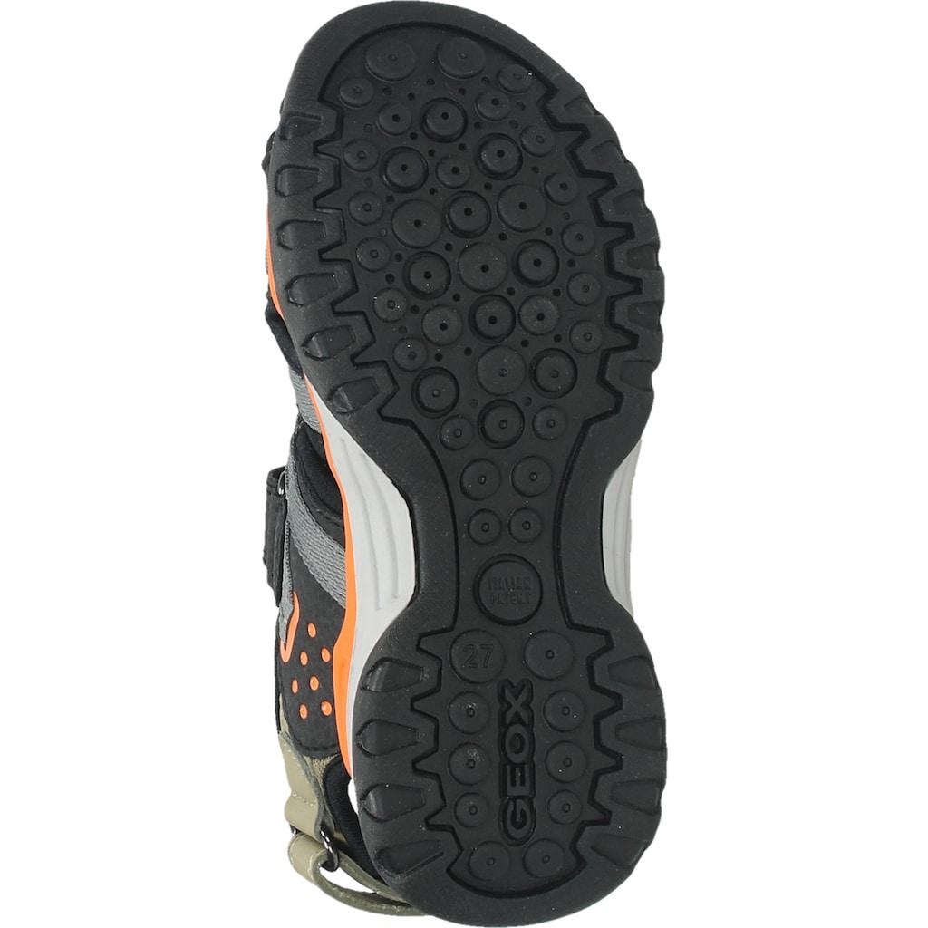 Geox Sandale »Lederimitat/Mesh«